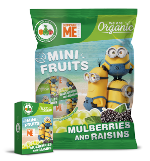 Mini Fruits Minions Mulberries & Raisins