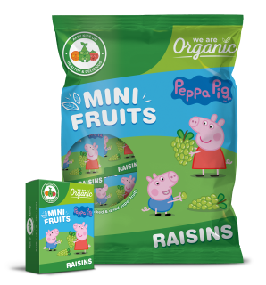 Mini Fruits Peppa Pig Raisins