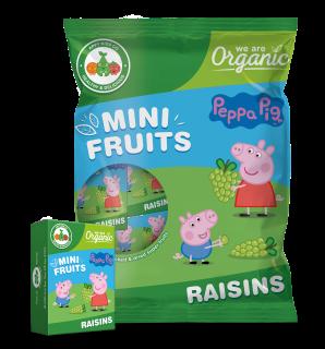 Mini Fruits Peppa Pig Raisins