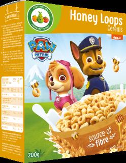 Paw Patrol Honey Loops Cereals