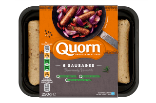 Quorn Sausages Frozen or Chilled 250g, 252g, 336g, 375g & 504g