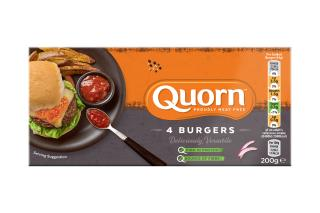 Quorn Burgers 300g and 500g