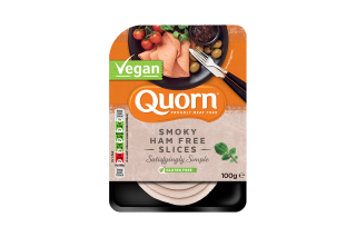 Quorn Vegan Ham Free Slices 100g