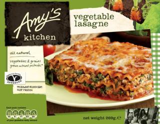 Amy's Kitchen Vegetable Lasagne