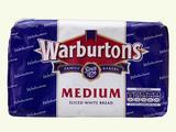 Warburtons White Medium 800g