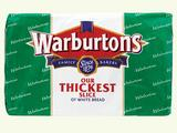 Warburtons White Super Toastie 800g