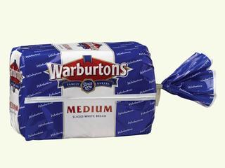 Warburtons White Medium 400g