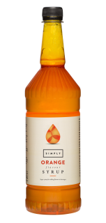 Simply Orange Flavour Syrup