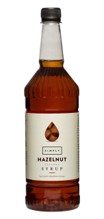 Simply Hazelnut Flavour Syrup