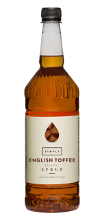 Simply English Toffee Flavour Syrup
