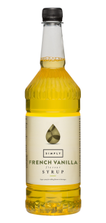 Simply French Vanilla Flavour Syrup