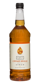 Simply Crème Brulee Flavour Syrup