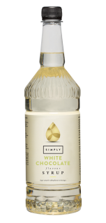 Simply White Chocolate Flavour Syrup
