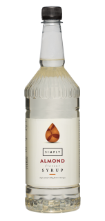 Simply Almond Flavour Syrup
