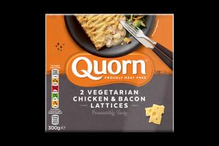 Quorn Vegetarian Chicken & Bacon Lattice 300g