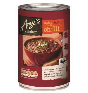 Amy's Kitchen Spicy Chilli