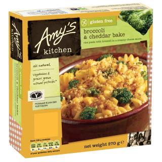 Amy's Kitchen Gluten Free Broccoli & Cheddar Bake Bowl