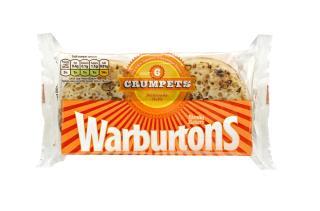Warburtons 6, 8 & 9 Crumpets