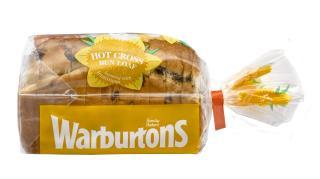 Warburtons Hot Cross Bun Loaf