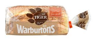 Warburtons 600g Sliced Tiger White