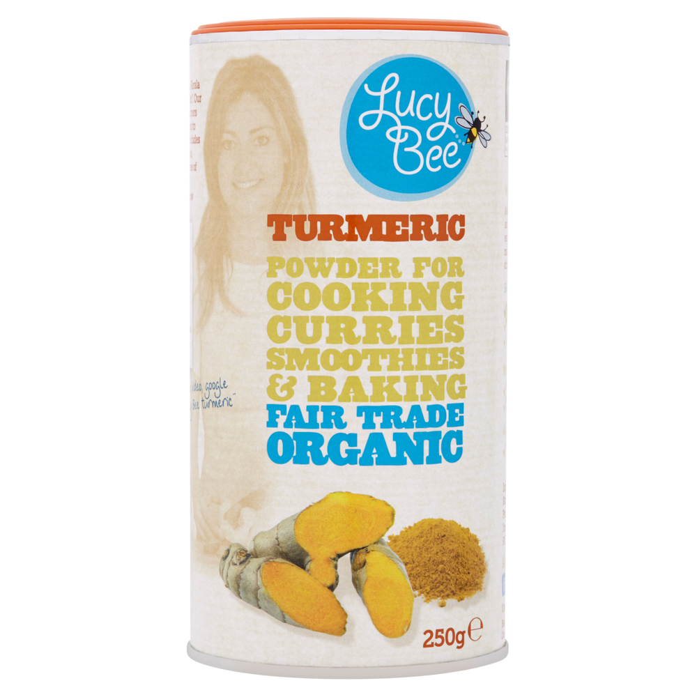 Lucy Bee Organic Fair Trade Turmeric Powder