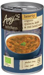 Amy's Kitchen Organic Quinoa, Kale, Red Lentil Soup
