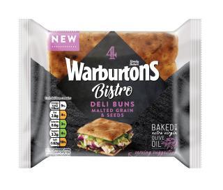Warburtons 4 Malted Grains & Seeds Flatbreads