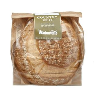 Warburtons Country White 400g