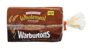 Warburtons Wholemeal Toastie 800g