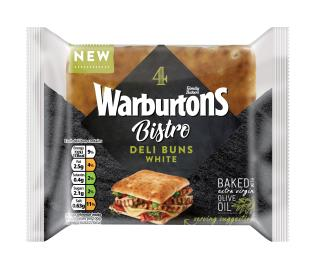 Warburtons 4 White Flatbreads