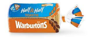 Half & Half Toastie 800g (Wonderloaf Thick 800g)