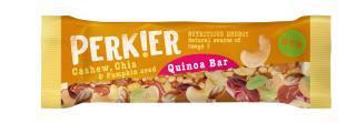 PERKIER Cashew, Chia & Pumpkin Seed Quinoa Bar, 35g