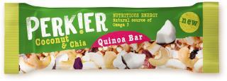 PERK!ER Coconut & Chia Quinoa Bar