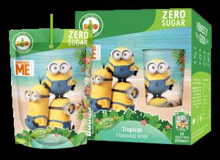 Minions Zero Sugar Tropical Fruit Flavoured Drink (200ml)