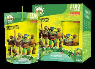 TMNT Zero Sugar Multi Fruit Flavoured Drink (200ml)