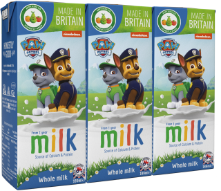 Paw Patrol Whole Milk (200ml)