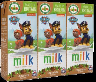 Paw Patrol Chocolate Flavoured Milk (200ml)