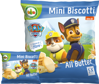Paw Patrol All Butter Mini Biscotti