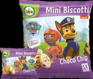 Paw Patrol Choco Chip Mini Biscotti