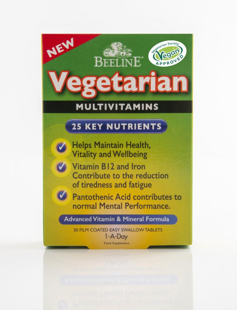 Beeline Vegetarian Multivitamin Tablets