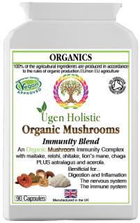 Organic Mushrooms Immunity Blend