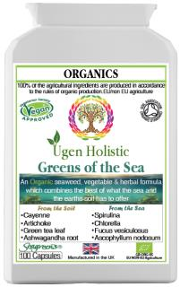 Organic Greens of the Sea with Seagreens