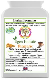 Organic Turmeric with Immune Sytem Support