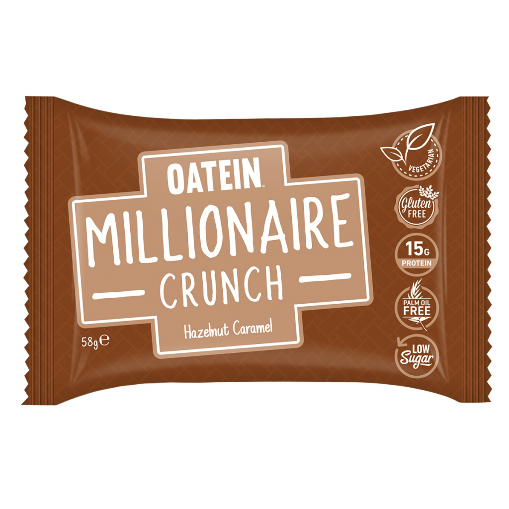 Millionaire Crunch 58g – Hazelnut Caramel