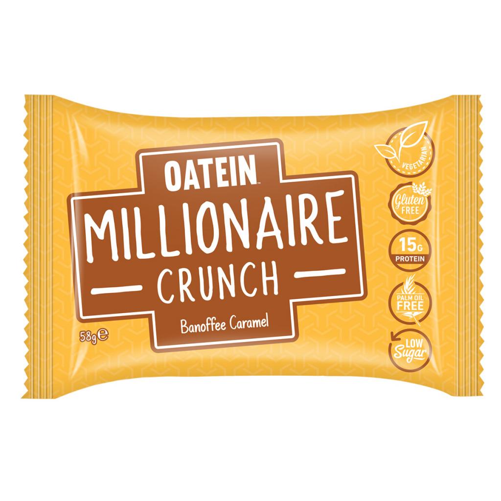 Millionaire Crunch 58g – Banoffee Caramel