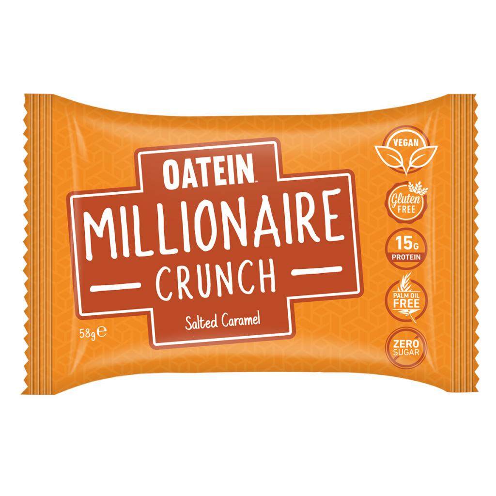 Millionaire Crunch 58g – Salted Caramel