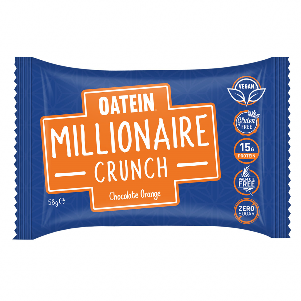 Millionaire Crunch 58g – Chocolate Orange