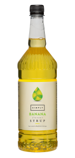 Simply Banana Flavour Syrup