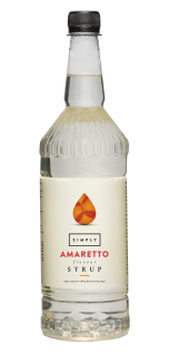 Simply Amaretto Flavour Syrup