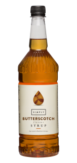Simply Butterscotch Flavour Syrup